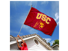 "USC Trojans Southern Cal University Large College Flag"" class="