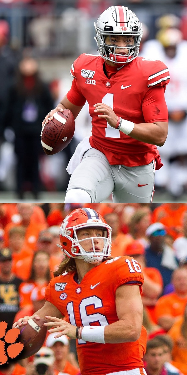 Justin Field vs. Trevor Lawrence