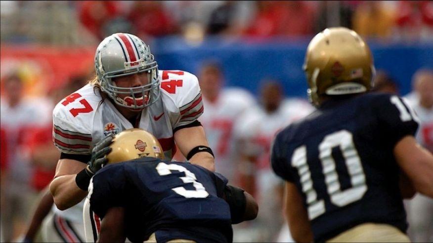 AJ Hawk LB Ohio State