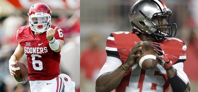 Baker Mayfield Sooners vs JT Barrett Buckeyes