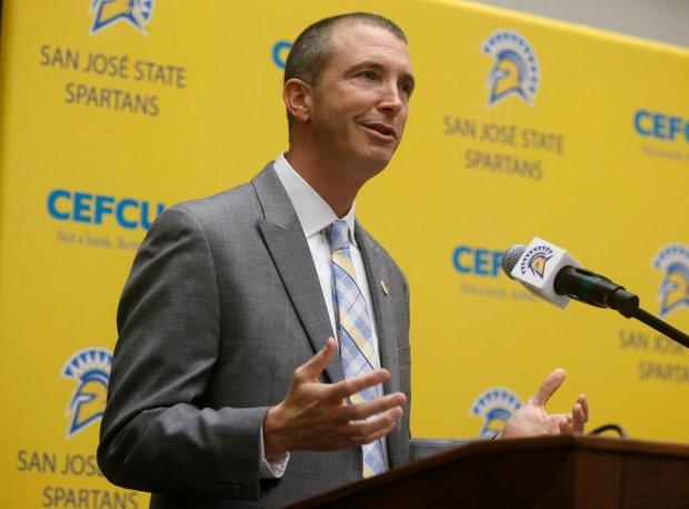 Brent Brennan Coach San Jose State