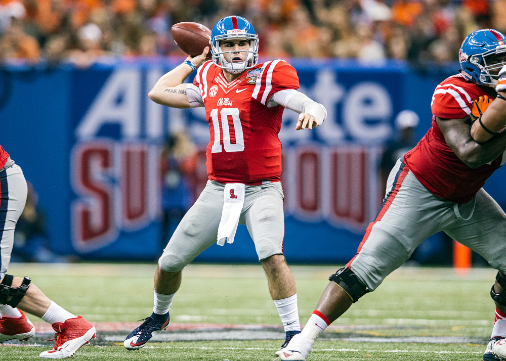 Chad Kelly QB Ole Miss
