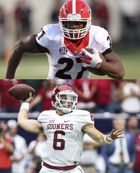 Nick Chubb vs. Baker Mayfield