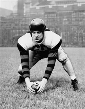 Chuck Bednarik Center LB Penn