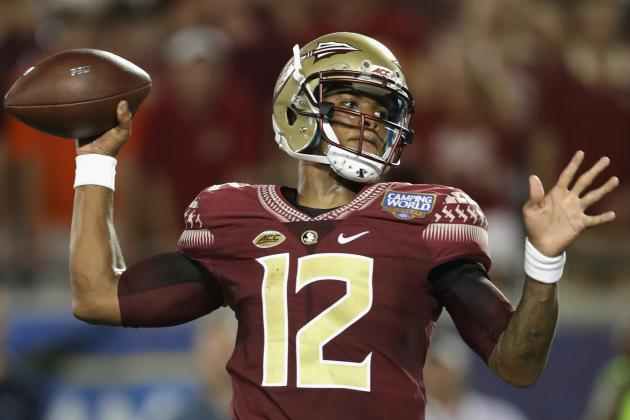 "Deondre Francis Florida State QB"" class="