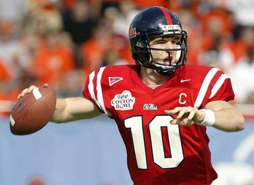 Eli Manning QB Mississippi