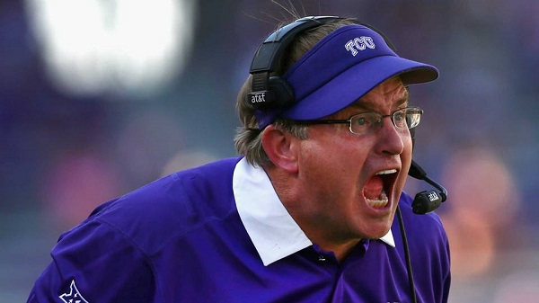 Gary Patterson Coach TCU Horned Owls