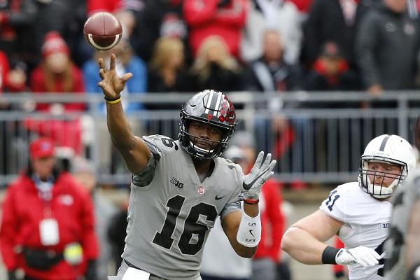 JT Barrett Beats Penn State