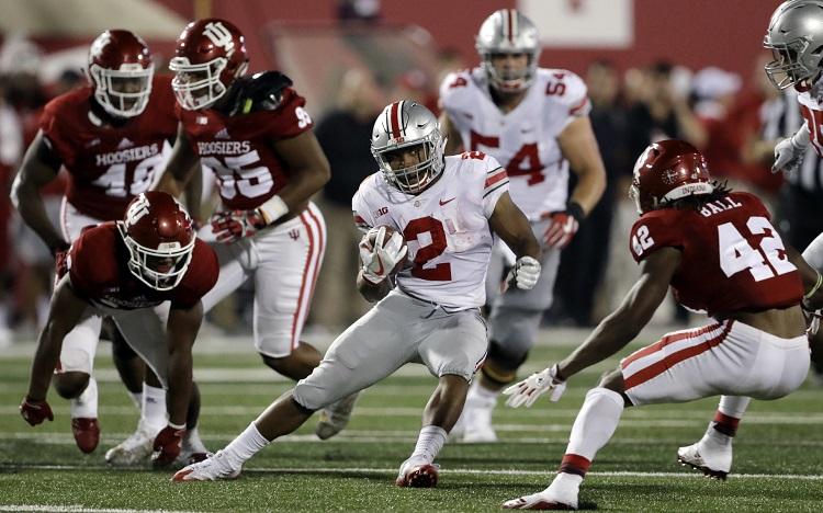 J K Dobbins Running Back Ohio State Buckeyes