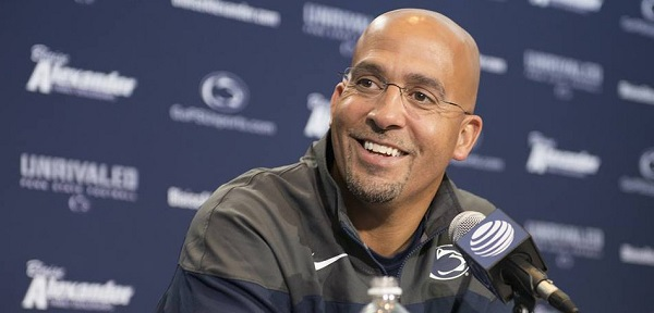 James Franklin Penn State Coach