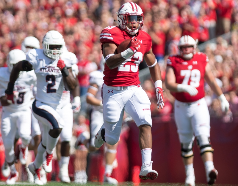 Jonathan Taylor RB Wisconsin