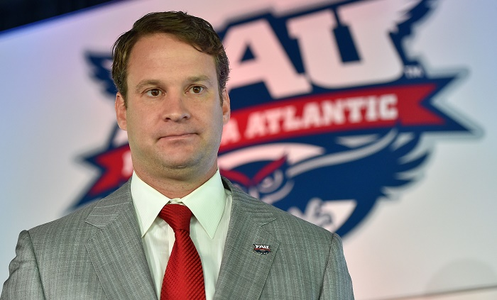 Lane Kiffin Coach Florida Atlantic