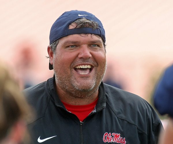 Matt Luke Ole Miss Interim Coach