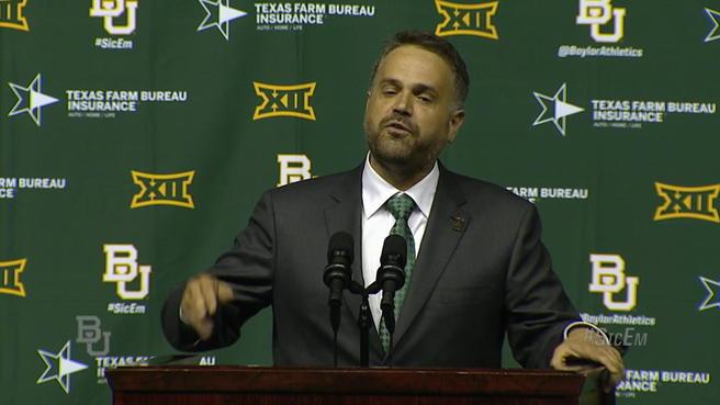 Matt Rhule Coach Baylor
