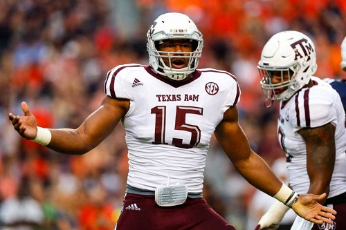 Myles Garrett Defensive End Texas A&M