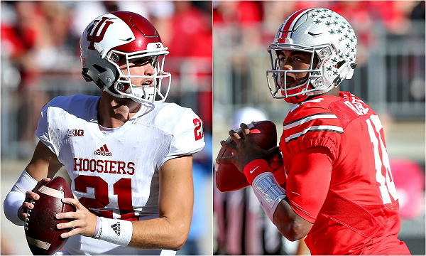 Richard Lagow QB Indiana JT Barrett QB Ohio State