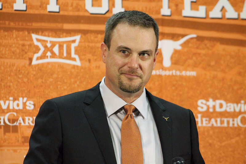 Tom Herman Coach Texas